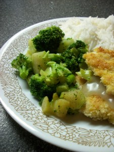 Pounded Almond Chicken