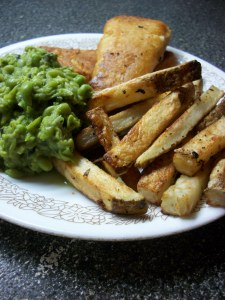 Fish Chips Mushy Peas