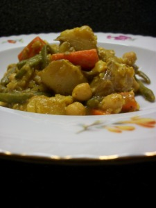 Vegetable and Coconut Curry