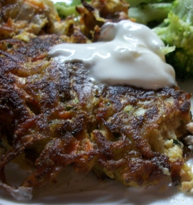 4 Vegetable Latke