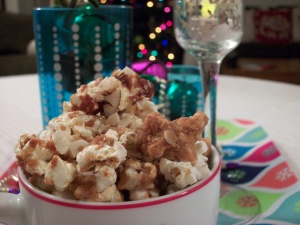 Cardamom Almond Popcorn
