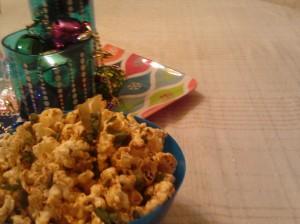 Chimichurri Popcorn